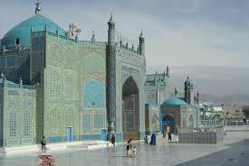 Foto da mesquita azul em Mazar-i-Sharif