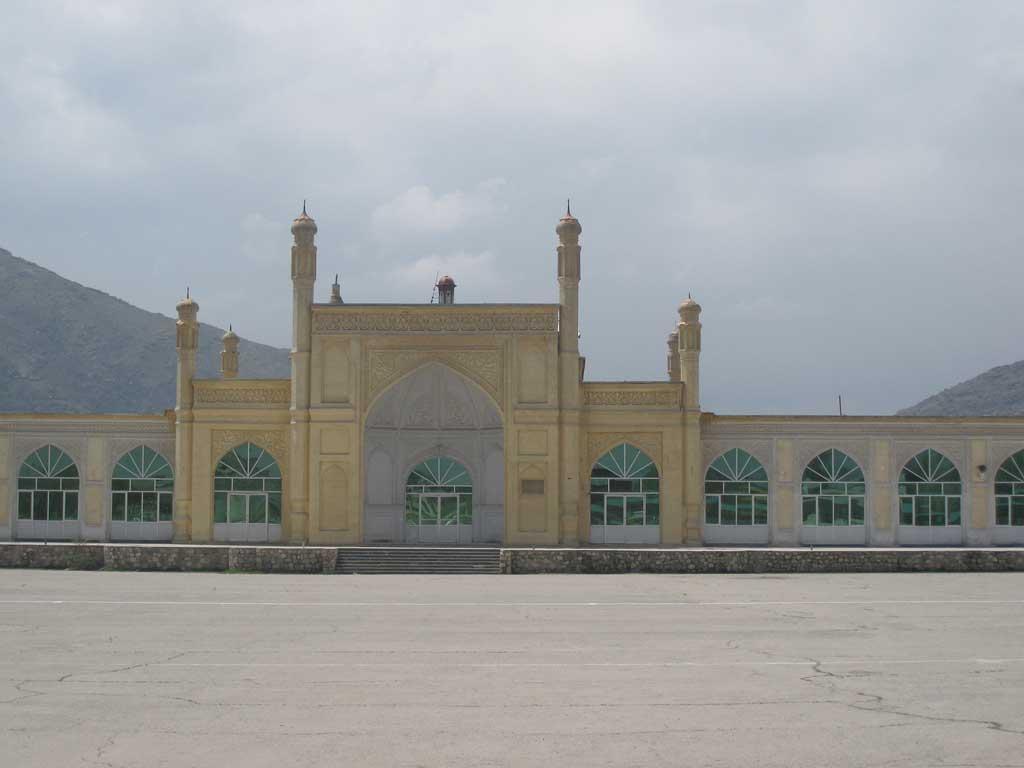 Foto da Mesquita Id Gah em Cabul