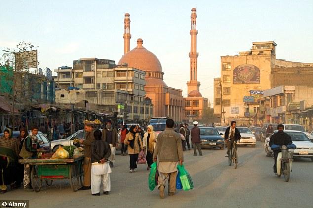 Foto da Cidade de Cabul