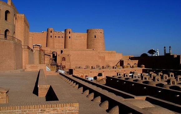 Foto da Cidadela de Herat