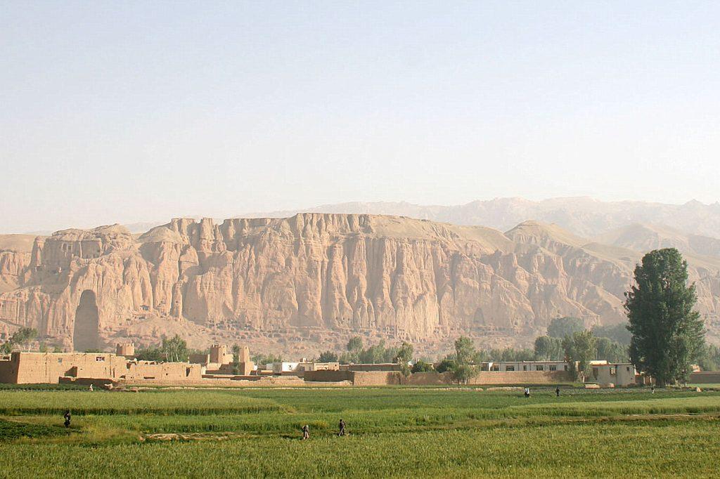 Vale de Bamiyan Afeganistão