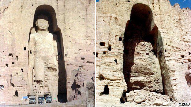 Os Budas de Bamiyan